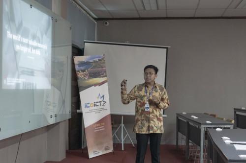 ICoICT 2018, Telkom University Indonesia